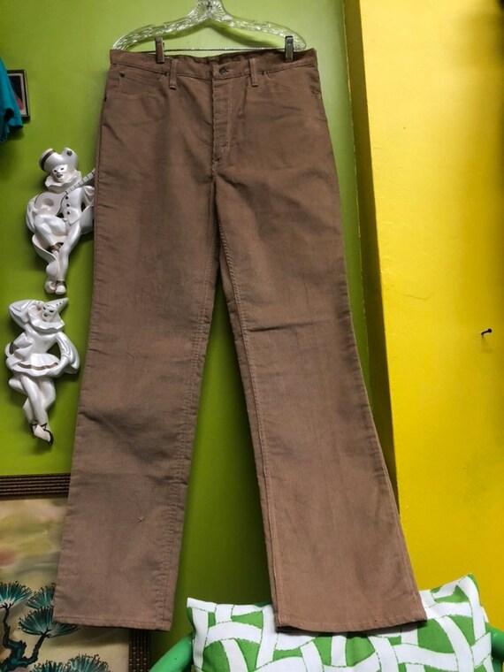1960s Mens  Dead Stock Wrangler Corduroy Pants