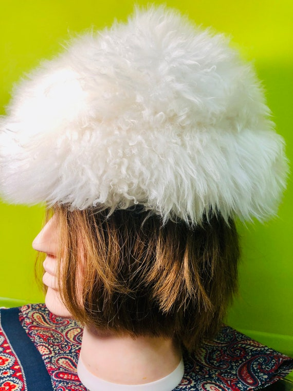 1960s Tuscan Lamb Fur Hat