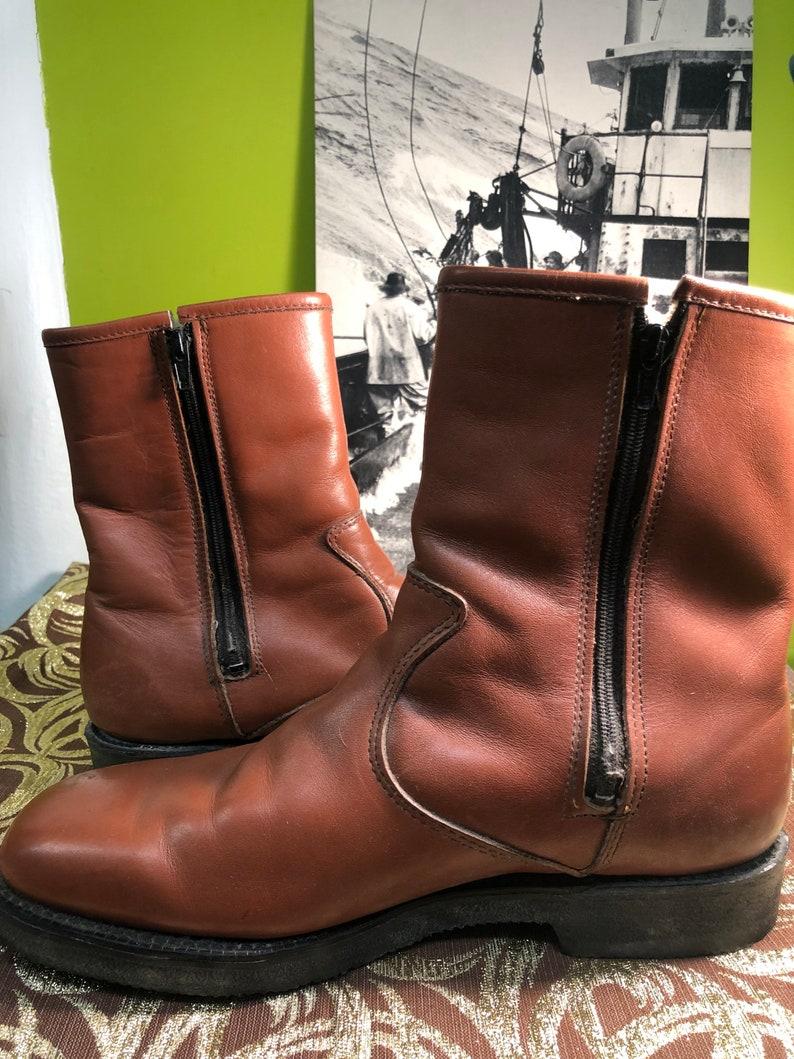 1970s Dexter Faux Fur Lined Beatle Boots