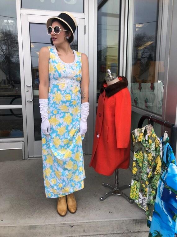 1960s Lilly Pulitzer maxi dress