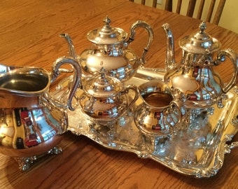 Reed barton tea set | Etsy