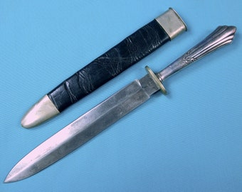 Antique Bowie Knife Etsy