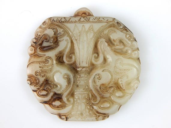 Each one unique Chinese carved pendants
