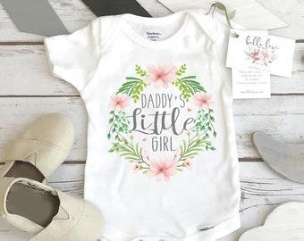 Daddy's Little Girl, Baby Shower Gift, Baby girl Gift, Daddy Onesie®, Gender Reveal, Baby girl gift, Daddys Girl, Niece Gift, Newborn Girl