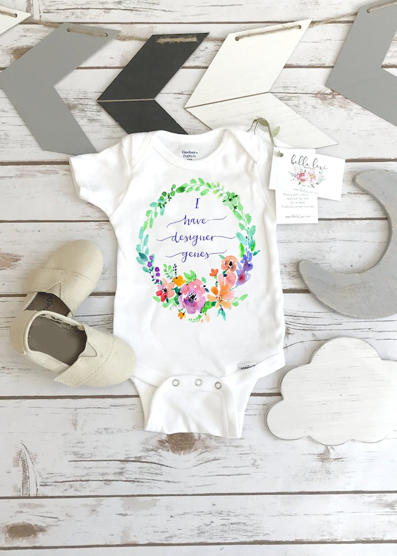 Designer Genes Onesie® Down Syndrome Awareness Special Baby image 0