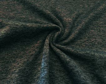 Knitted anthracite marl