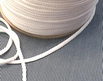 4 mm white cord
