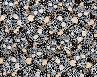 """David Textiles """"Sculls Black"""""""