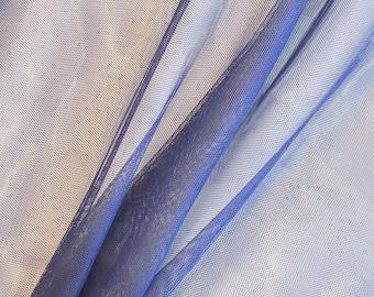 Dark blue tulle