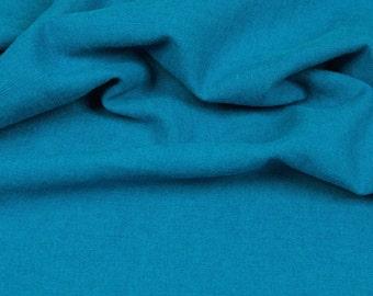 Hilco linen uni turquoise/teal