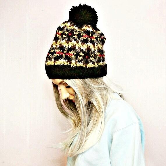 Pdf Knitting Pattern Fair Isle Icelandic Wool Hat Pattern Etsy