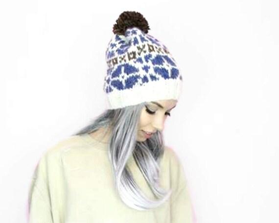 2e12bb73692 PDF Knitting Pattern Nordic Icelandic Wool Hat Pattern