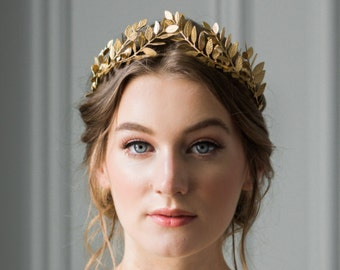 Bridal leaf crown  7aa6b1c88f9