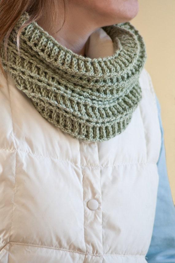 Crochet Pattern Cowl Pattern Womens Cowl Crochet Scarf | Etsy
