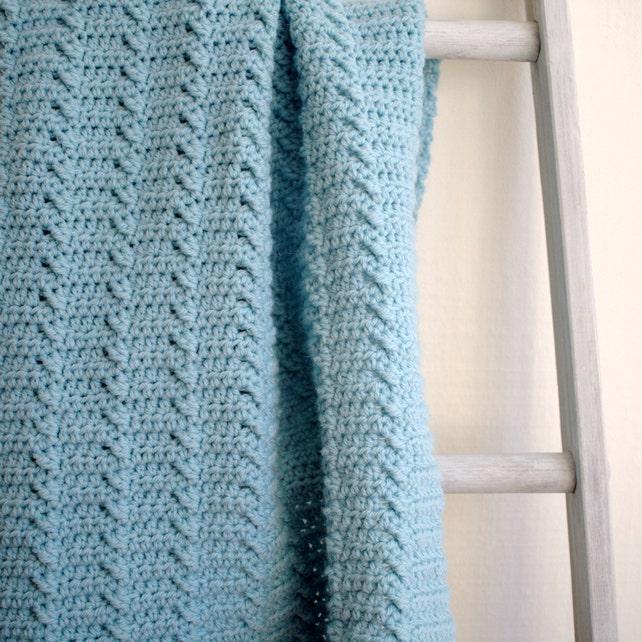 Crochet Blanket Pattern Baby Blanket Pattern Diy Crochet Baby Etsy