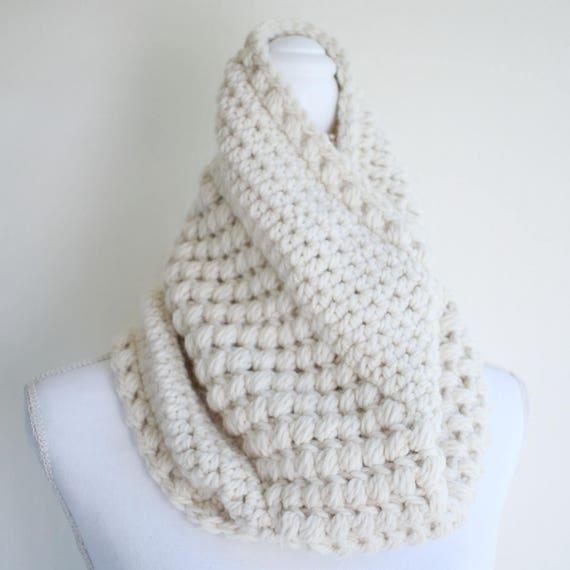 Cowl Pattern Womens Cowl Scarf Pattern Crochet Pattern Etsy