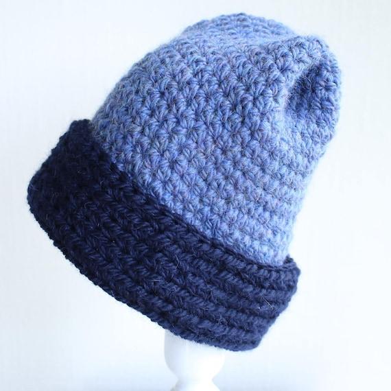 Mens Hat Pattern Crochet Pattern Bulky Winter Hat Pattern  46f59421fce