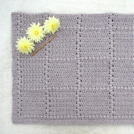 Baby Blanket Pattern New Baby Crochet Pattern Baby Afghan Etsy