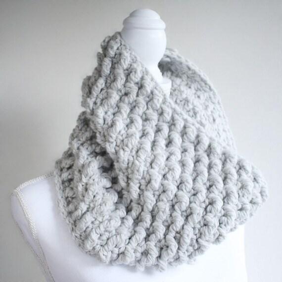 Crochet Cowl Pattern Diy Cowl Scarf Crochet Pattern For Etsy