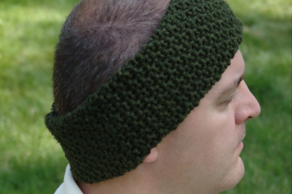 Crochet Pattern Mens Ear Warmer Pattern Mens Neck Warmer Etsy