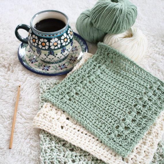 Crochet Pattern Hand Towel Pattern Crochet Dishcloth Etsy