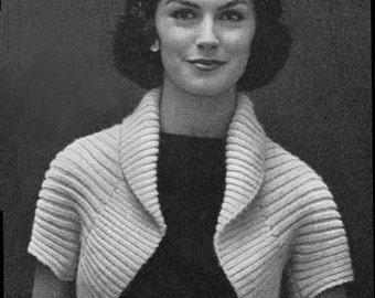 Ribbed knit shrug  8bc44fe19