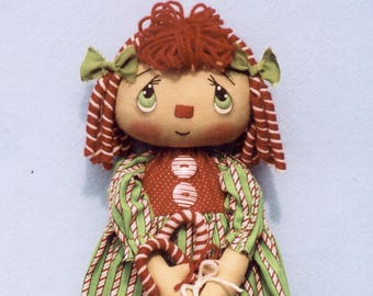 Primitive PATTERN Candy Cane Annie