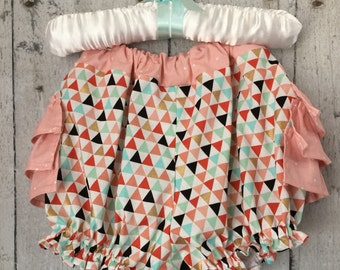 Ready to ship , Ruffle Bloomers/ Girl bloomers