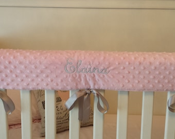 Top Seller: Best Selling Items, crib rail cover,Embroidered Crib Rail Cover/ Crib Rail Pad/Create Your Own!