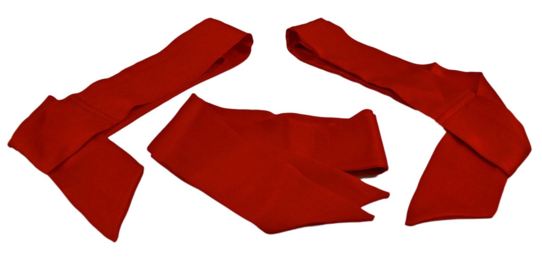 Tie Bedpost Red Silk Panties HD