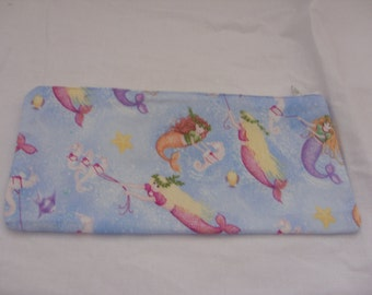 Pencil case with cute mermaid design