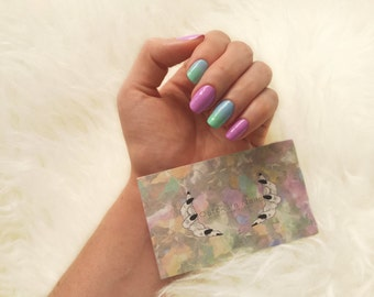 Candy Klaws | Pastel Ombre | Press On Nails
