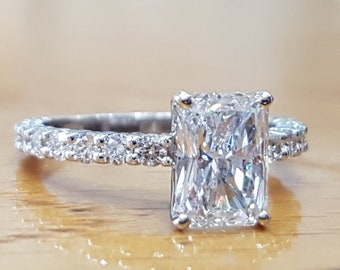 794771ba91202 Large diamond ring | Etsy