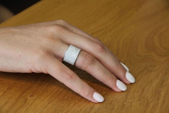 14K Solid or Blanc Étoile Forme créé Lab Diamant Clous D/'Oreilles 2TCW