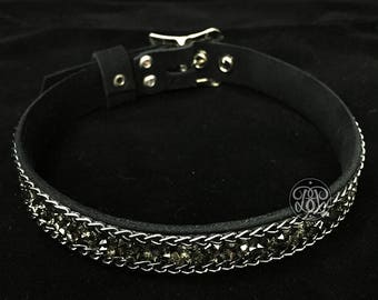 Stardust Chain Submissive Collar