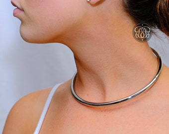 PLUS SIZE Submissive Day Collar - 4 Colours