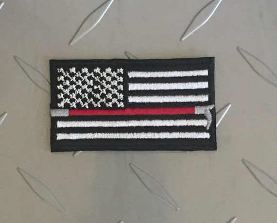 USA America Country Flag Embroidered Patch T4