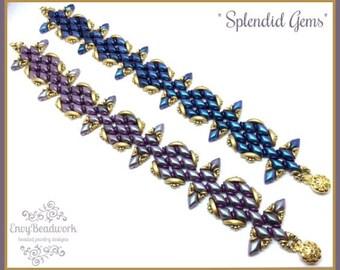 """Only Beads kit: """"Splendid Gems"""" Bracelet D.I.Y"""