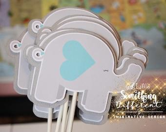 Elephant Baby Shower Decorations Etsy