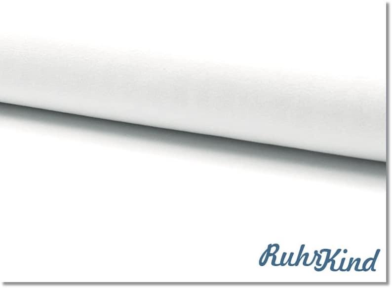 05m Jersey Uni Weiss image 1