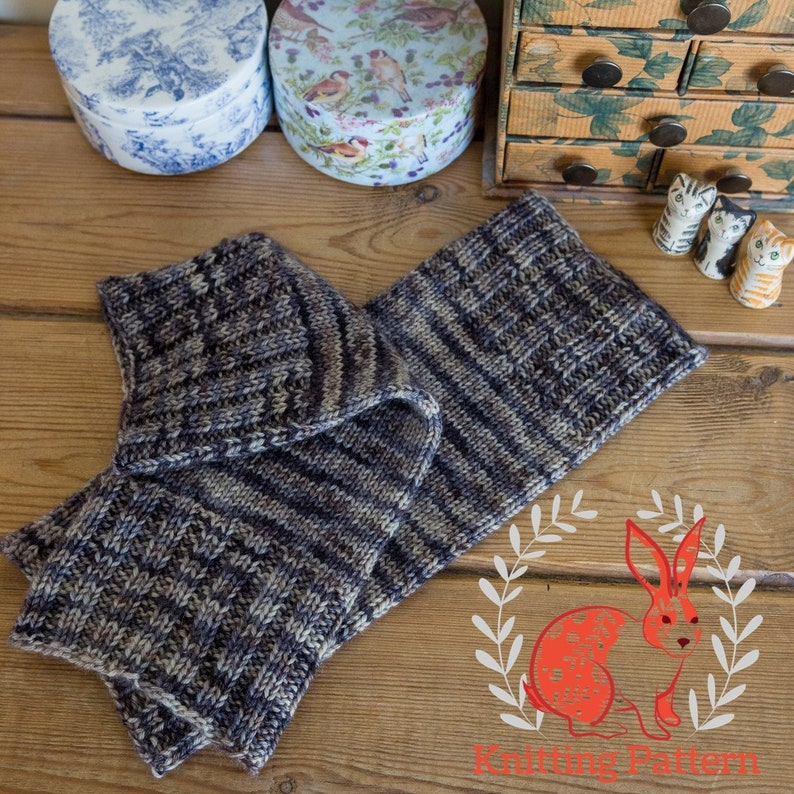Leg Warmers knitting pattern suitable for confident beginner image 0