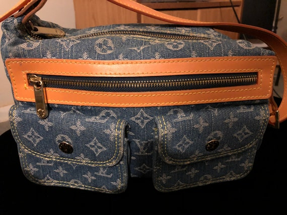 Louis Vuitton Denim Handbag