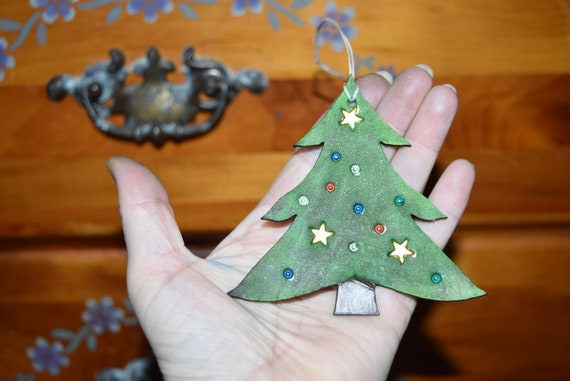 Bulk Christmas Ornaments.Christmas Tree Ornament Leather Christmas Tree Ornament Single Or Bulk Available