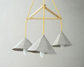 Lampadario Di Cartapesta : Lampada a sospensione di cartapesta morganite lampada