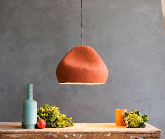 Paper Lamp Sensi Ii Mache Light, Paper Mache Lamp