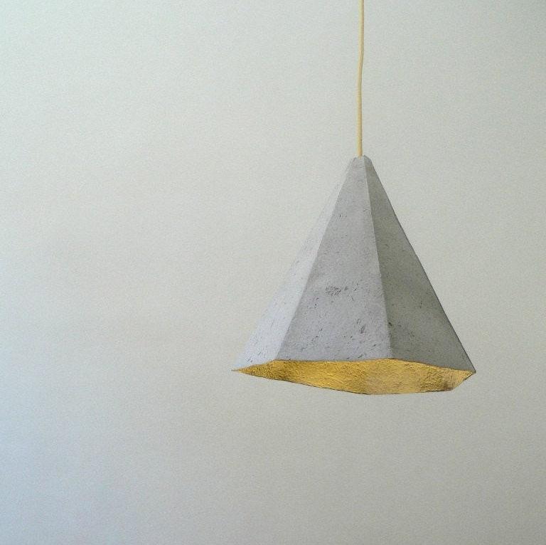 Pendant Lamp Shade Paper: Geometric Lamp Paper Pendant Lamp Paper Lamp Shade Hanging
