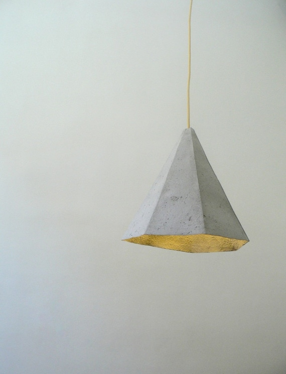 Pappmaché-Lampe Quartz Lampe Pappmaché Hängelampe