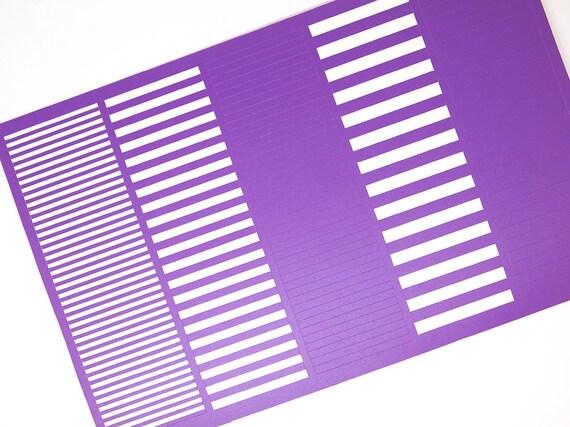 Stripes Variety Nail Vinyl Nail Art Guides Nail Art Tape Etsy