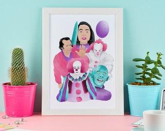 Candy King | Art Print | Horror Villains | Stephen King | Book Art | Movie Horror