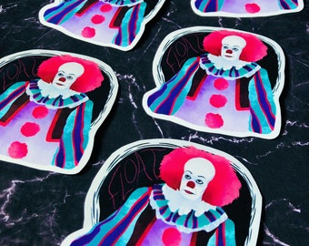 Pennywise Sticker   Pennywise the Dancing Clown   Stephen King   Vinyl Sticker